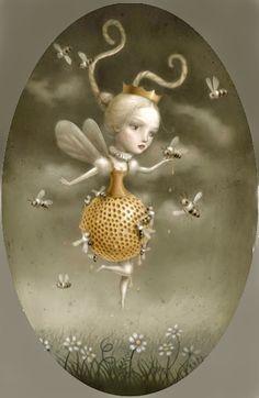 Queen Bee by Nicoletta Ceccoli