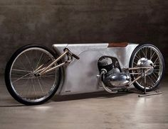 Easy Like Sunday Morning by Urban Motor, a Berlin-based independent motorcycle shop that custom builds its bikes.  http://bgr.com/2017/02/24/motorcycle-concept-easy-like-sunday-morning/