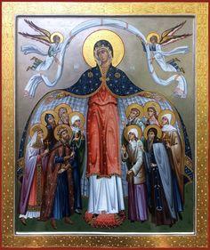 Icon orthodox Religious Images, Religious Icons, Religious Art, Byzantine Icons, Byzantine Art, Pictures To Draw, Art Pictures, Photos, Roman Church