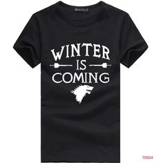 Get This Winter Is Coming T-Shirt For Just $19.95 - FREE WORLDWIDE SHIPPING! Be Sure To Claim Yours Before They're Gone! Payment is Guaranteed To Be 100% Safe and Secure Using Any Credit Card or PayPa