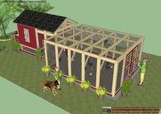 Home Garden Plans:   Chicken Coop Plans Construction   Chicken Coop Design    How To Build An Insulated Chicken Coop