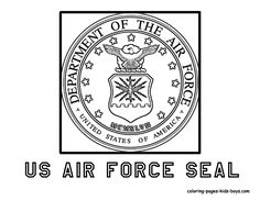 Armed Forces Day Coloring page  US Army Insigina  veterans day