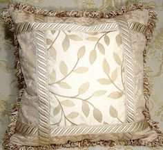 Custom Designer Throw Accent Pillows 2 Stroheim U0026 Romann Show Room Quality  By Cabincovecreations, $299.95