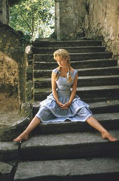 vintage everyday look: Beautiful Brigitte Bardot photographed by Mark Shaw, 1956