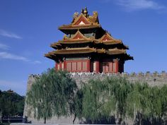 West Watchtower of the Forbidden City Palace Museum Beijing China Cool Lights For Bedroom, Modern Bedroom Lighting, Asian Architecture, Architecture Wallpaper, National Geographic Wallpaper, Beautiful World, Beautiful Places, Travel Around The World, Around The Worlds