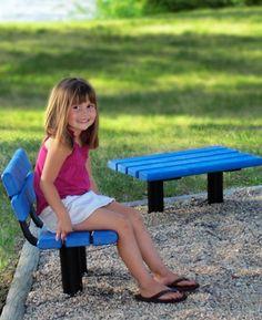 Kids bench for outside