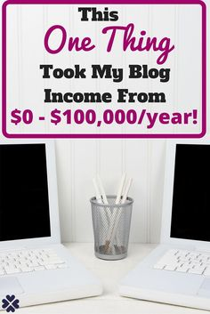 I used to be so frustrated that everyone else was making money blogging except for me. I did some research and found the one thing that changed it all around. Now I make $100k per year from my blog. Learn what changed my path and maybe it can help you too