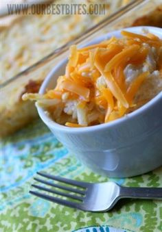 """Funeral Potatoes.....holy crap.....they really are called funeral potatoes.  My sister gave me this recipe she called """"grandpas funeral potatoes"""". Because some church lady brought them to the after funeral get together when her grandfather died... Weird."""