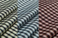 Mulberry silk and cotton blend fabriccampus checks by LazyRuler, $9.88  campus shirt checks