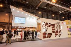 Booth design | Nobel Biocare | Expodental 2014 by QUAM Brand Environment Design, via Behance