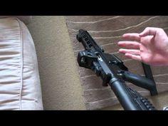 SGC unicorn 9mm lever release rifle AR15 - http://fotar15.com/sgc-unicorn-9mm-lever-release-rifle-ar15/
