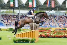 Phillip Dutton and Fernhill Cubalawn at Aachen. Photo by Jenni Autry.