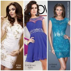 Modest Short Homecoming Dresses