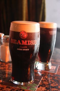 Food and Travel: Cork and Kinsale | pictured Beamish stout, best known in Co Cork
