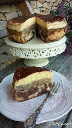 Apple Recipes, Sweet Recipes, Cake Recipes, Dessert Recipes, Cookie Desserts, No Bake Desserts, Waffle Cake, Hungarian Recipes, Special Recipes