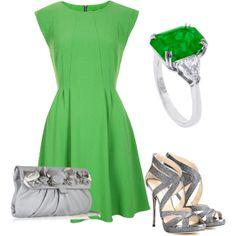 """Green <3"" by amalerczyk on Polyvore"