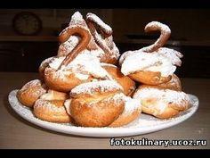 Рецепт-- Эклеры  ( заварные пирожные )