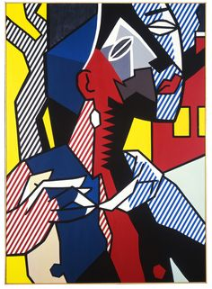 Roy Lichtenstein - Female Figure, 1979