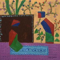 "Saatchi Art Artist: MERAL AĞAR; Oil 2011 Painting ""Miniature Emulations"""
