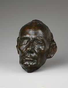 Leonard Wells Volk (1828–1895). Life Mask of Abraham Lincoln, 1860, cast 1886. Artist: Augustus Saint-Gaudens (American, 1848–1907). The Metropolitan Museum of Art, New York. Purchase, Jonathan L. Cohen and Allison B. Morrow Gift and Friends of the American Wing Fund, 2007 (2007.185.2)