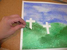 that artist woman: Remembrance Day painting - Art Project Remembrance Day Activities, Remembrance Day Poppy, Poppy Craft For Kids, Crafts For Kids, Preschool Crafts, 3rd Grade Art, Grade 1, Cross Art, Anzac Day