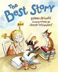 The Best Story - an awesome book for kickstarting the writing workshop!  {About a little girl who learns to look inside her heart and use her own experiences when writing}