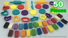 50 Pieces Modeling Clay Fun and Creative for Children