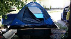 Tent camper coming together