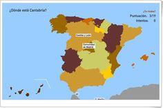 Comunidades autónomas de España (Toporopa.eu) Activities For Kids, Spanish, Science, Socialism, World, Science Games, Science Area, Constitution Day, Good Manners