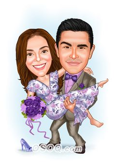 Shop for Caricature artist draw cartoon portrait and Custom Cartoon logo, business card, poster, banner design for your business. Caricature Artist, Caricature Drawing, Cartoon Logo, Cartoon Design, Wedding Caricature, Wedding People, Wedding Proposals, Couple Cartoon, Picture Sizes
