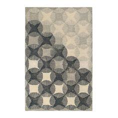 Marco Tex Tapis en laine gris et écru - Gray, Large Area Rugs