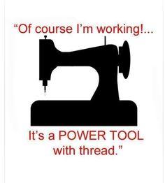 Sewing machine power tool