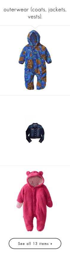 """""""outerwear (coats, jackets, vests)."""" by originalimanim ❤ liked on Polyvore featuring viking blue, babies, baby clothes, kids, baby, baby girl, baby stuff, outerwear, jackets and embroidery jackets"""