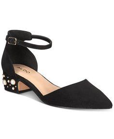 37d04749da1b ALDO Wiliwiel Block-Heel Pumps   Reviews - Pumps - Shoes - Macy s