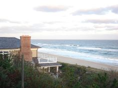 View from The Wavecrest Resort, old Montauk Highway