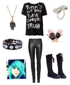 """""""?"""" by naseyroyal ❤ liked on Polyvore featuring R13, The Row, Akillis and Alexander McQueen"""