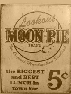 Lookout Moon Pie Ad Tin Sign Garage Vintage Style Home Country Kitchen Decor 21d01758da55