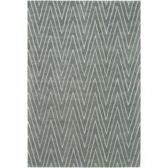 Thom Filicia Griffith Park Blue/ Stone N.Z. Wool Rug (8u0027 X 10u0027) By Safavieh