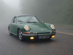 Beautiful 912 in Irish Green #porsche #porsche912 #porsche911
