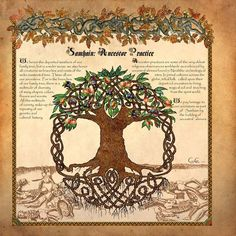 I really love the celtic tradicions towards the ancestors, and the way they make it is awesome!