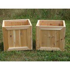 Red Cedar Planter Box
