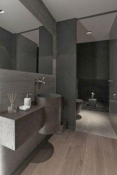 VISUELLE: Stylish Dark-Toned Interior in Istanbul Designed by Tanju Özelgin