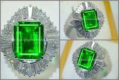 Elegant Bluish Green Emerald Colombia Cristal Mulusss - EM 071