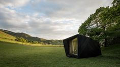 A series of pop-up hotels has appeared in the Welsh countryside following a competition by Epic Retreats to celebrate 'The Welsh Year of Legends'.