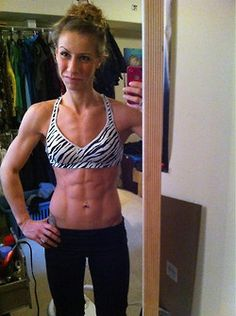 Kelsey Aquiline is ripped