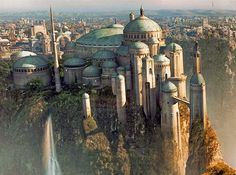 I'd love to see the great views on Naboo again.