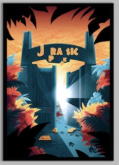 Jurassic Park / Jurassic World Poster, limited to just 50 prints! These will never be printed again. Hand signed and numbered by Lynx Collection. Jurassic World Poster, Jurassic Park Trilogy, Jurassic World 2015, Jurassic Park 1993, Jurassic World Dinosaurs, Michael Crichton, Thriller, Science Fiction, The Lost World