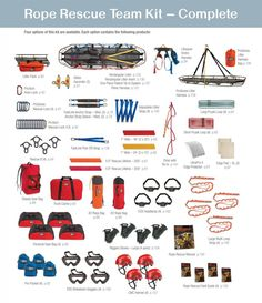 CMC Rope Rescue Team Kit – Advanced Helicopter + Rescue Techniques ...