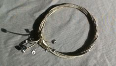 Old Guitar Strings Bracelet. P_Gala