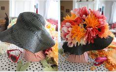 Easter Bonnets Part Deux: Coffee Filter Flower Hats
